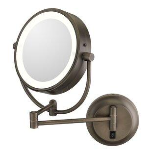 Jignesh Modern LED Lighted Makeup/Shaving Mirror ByOrren Ellis