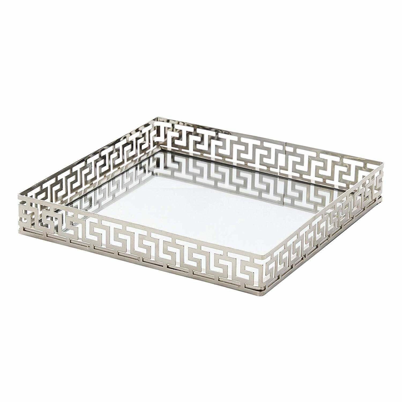 Mercer41 Mcandrews Metal Mirror Vanity Tray Wayfair