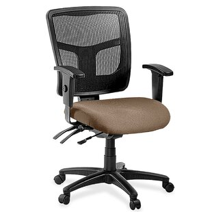 Lorell 86000 Series Managerial Mid-Back Mesh Executive Chair