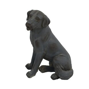 Free Shipping Sage Sitting Dog Statue