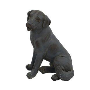 Sage Sitting Dog Statue Image