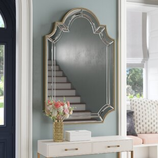 308e8103be48 Arch Crowned Top Champagne Wall Mirror