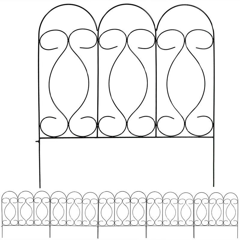 SunnyDaze Decor 24 in. x 24 in. Border Fence Panel ...