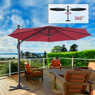 Latitude Run Caire 10' Cantilever Umbrella