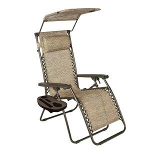 Effie Reclining/Folding Zero Gravity Chair by Red Barrel Studio