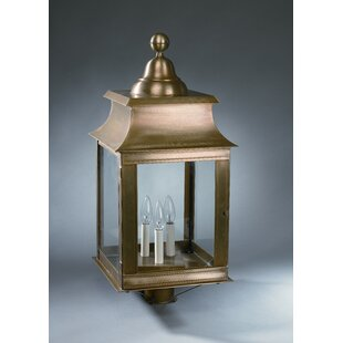 Prescot 3-Light Lantern Head by Darby Home Co