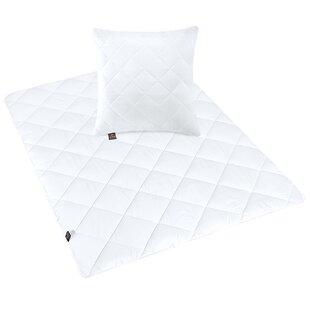 3 Piece Box-Stitch Duvet And Pillow Set By Sei Design