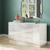 Brackenridge 4 Drawer Standard Dresser by Wade Logan®