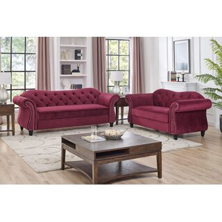 Arden 2 Piece Living Room Set by Charlton Home SKU:DD427672 Reviews
