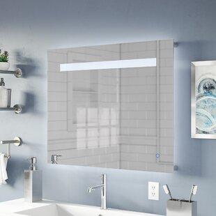 Read Reviews Naia LED Bathroom/Vanity Mirror ByOrren Ellis