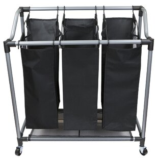 Compare & Buy Mesh Triple Laundry Sorter By Sunbeam