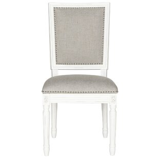 Elyas Upholstered Dining Chair (Set of 2) by Lark Manor
