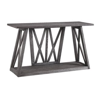 "Nautilus 52"" Solid Wood Console Table by Gracie Oaks SKU:AE813074 Description"