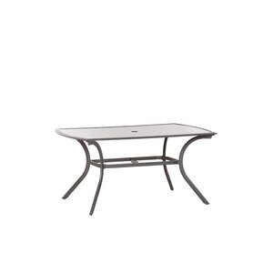 Aluminium Rectangular Dining Table