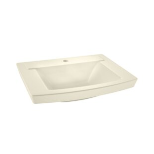 Bargain Townsend  24 Pedestal Bathroom Sink with Overflow By American Standard