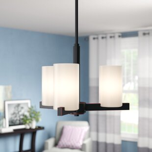 Gagliardi 3-Light Shaded Chandelier by Zipcode Design