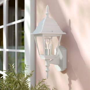 Charlton Home Ledbetter 1-Light Outdoor Cast Aluminium Sconce