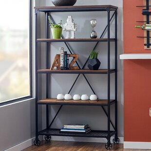 Kilmersdon Etagere Bookcase by Williston Forge