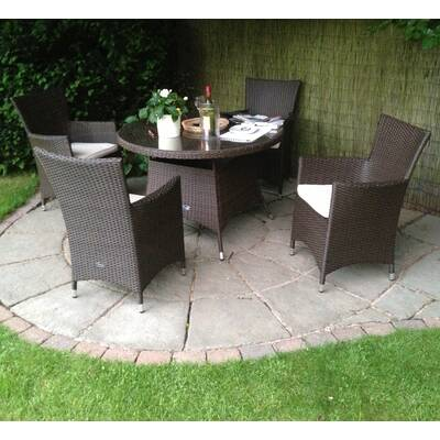 4 seater dining set compact termonde seater dining set with cushions lynton garden reviews