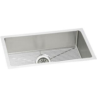 Crosstown 31 L x 19 W Undermount Kitchen Sink and Drain Assembly by Elkay