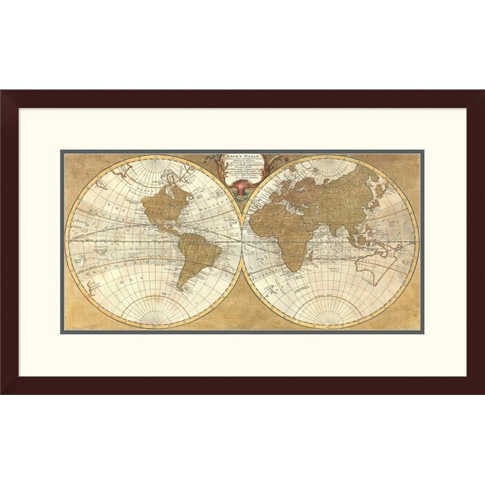 Global gallery gilded world hemispheres i by joannoo framed gilded world hemispheres i by joannoo framed graphic art sciox Images