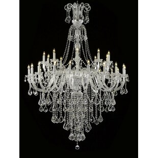 House of Hampton Royal 30-Light Candle Style Chandelier