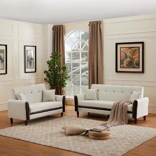 Briony 2 Piece Standard Living Room Set by Corrigan Studio