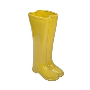 Ceramic Boots Umbrella Stand by Sagebrook Home