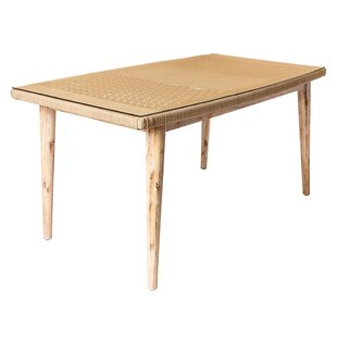 Sagar Solid Wood Dining Table By Sol 72 Outdoor