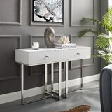 Plumeria 15.4 Console Table by Nicole Miller