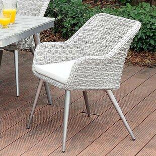 Corrigan Studio Brenton Patio Dining Chair with Cushion