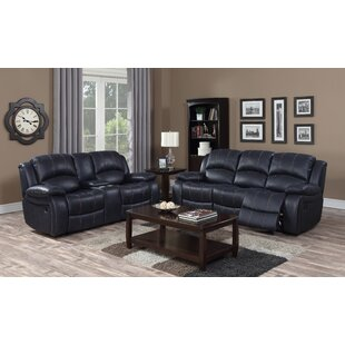 Rep 3 Piece Reclining Living Room Set by Red Barrel Studio