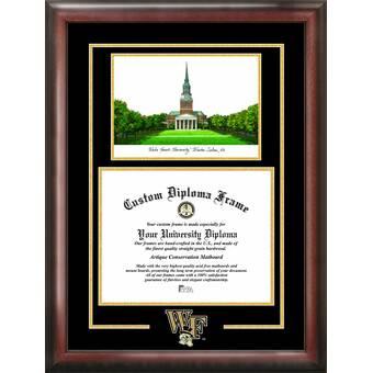 Campus Images Ncaa Georgia Bulldogs Spirit Graduate Diploma With Campus Images Lithograph Frame Wayfair