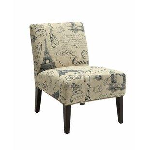 Hagler Slipper Chair by Breakwater Bay