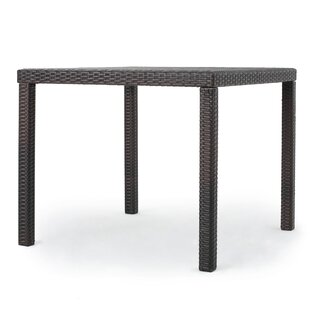 Haywa Outdoor Square Dining Table Ebern Designs
