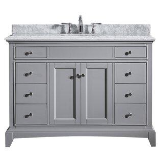 Strickland 48 Bathroom Vanity Base by Darby Home Co