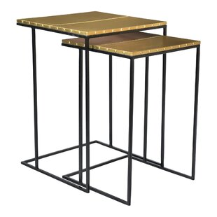 Barnesville 2 Piece Nesting Tables by Everly Quinn