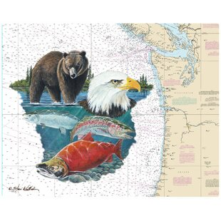 Pacific Northwest by Steve Whitlock Non-Slip Flexible Cutting Boards