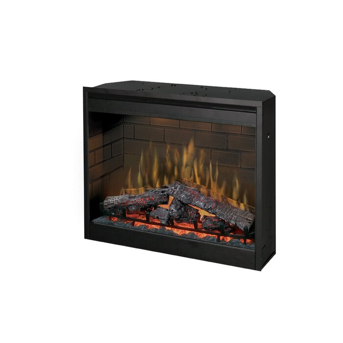 Dimplex Wall Mounted Electric Fireplace Insert Reviews Wayfair Ca