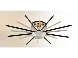 Flippen 8-Light LED Semi-Flush Mount by Brayden Studio