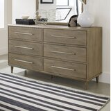 Songer 6 Drawer Double Dresser with Mirror by Corrigan Studio®