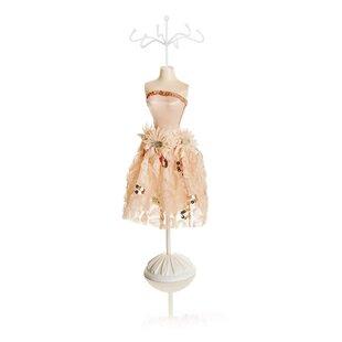 Large Pink Dress Mannequin Coat Rack By Brambly Cottage