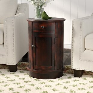 Monica End Table With Storage ..