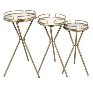 Klinger Contemporary 3 Piece Nesting Plant Stand Set by Mercer41