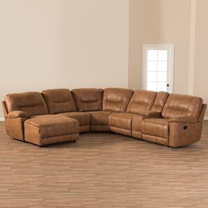Wholesale Interiors Baxton Studio Reclining Sectional