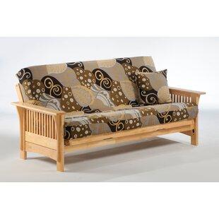 Portofino Loveseat Lounger Futon Frame by Night & Day Furniture