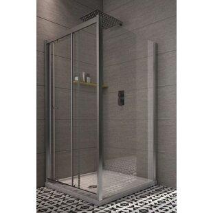 Chapa Rectangular Sliding Shower Enclosure by Belfry Bathroom