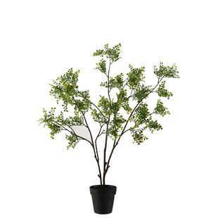112cm Artificial Fern Tree In Planter By The Seasonal Aisle