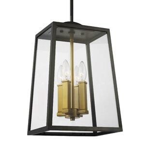 Breakwater Bay Millstone 4-Light Outdoor Hanging Lantern