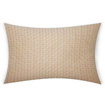 Gracious Living Viola Sheer Cotton Throw Pillow Wayfair